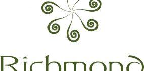 Sieben Silberfarnspitzen und der Name bilden das Logo von Richmond Plains