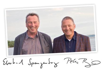 Foto von Eberhard Spangenberg und Peter Riegel