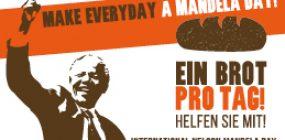 Banner zum internationalen Mandela Day