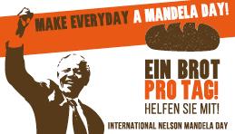 Mandela Day – Ein Brot pro Tag