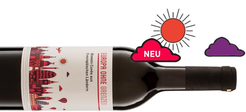 Unsere Weine – Europa ohne Grenzen Rotweincuvée