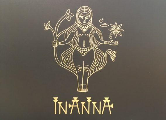 Das Logo der Inanna Weine