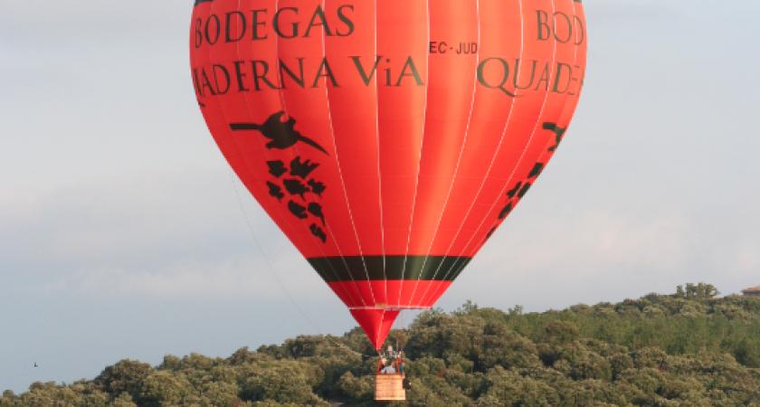 Der Heissluftballon von Quaderna Via