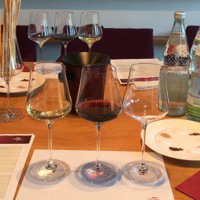Privatuntericht und Wein