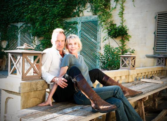 Sting und Trudie